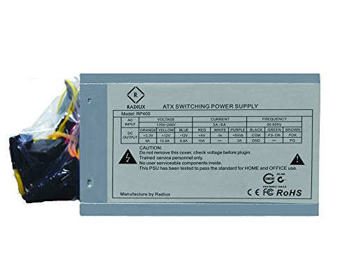 Radiux RP400 400 watts Power Supply (smps)