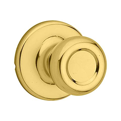 Kwikset - Security Tylo Passage Lockset, Polished Brass (92001-513)