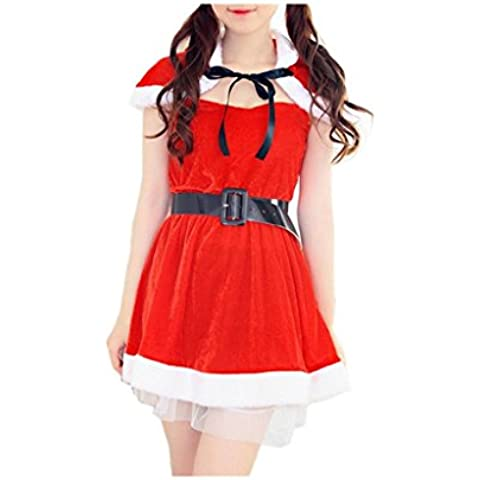 Koly_Donne Costume Xmas Party di Natale Outfit