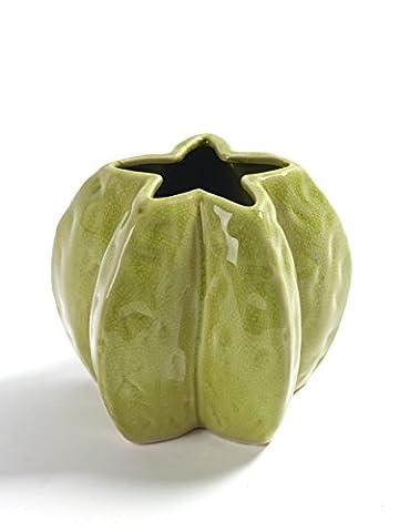 Vase Starfruit en forme de carambole, modèle