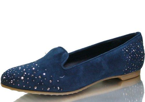 Maripé , Ballerines pour femme Bleu - Bleu marine