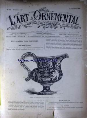 ART ORNEMENTAL (L') [No 138] du 19/0...