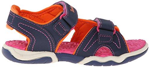 Timberland Active Casual Sandal Ftk_adventure Seeker 2 Strap Sandal, Sandales ouvertes mixte enfant Bleu - Bleu