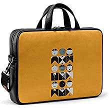 DailyObjects French Mustard Fashion City Compact Messenger Bag for Up to 15.5 Inch Laptop/MacBook Color-Multicolor