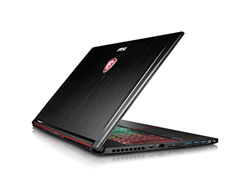 MSI GS63VR 7RG Stealth Pro 048UK 15.6-Inch Gaming Laptop - (Black) (Intel Core i7-7700HQ 2.8 GHz, 16 GB RAM, 512 GB SSD Plus 1 TB HDD, GeForce GTX 1070, Windows 10 Home)