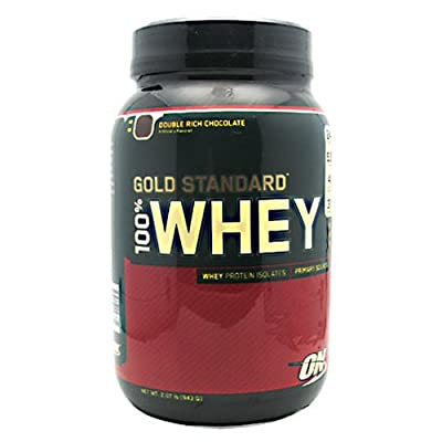 Optimum Nutrition 100% Whey Protein - Gold Standard Double Rich Chocolate 2 lbs