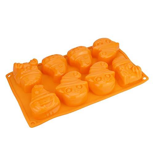 ilikon - 29 x 17 x 4 cm, orange, lebensmittelecht, zum Backen von Keksen, Mini Kuchen u.v.m, Stückzahl:1 Stück ()