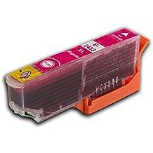 A la 1 Indicador de nivel de tinta Squid rosa y T2433 una Stylus Photo 'con diseño de elefantes y' (t2431-6xl) y antiadherente con borde ondulado-sourcingbay T2431/T2432/T2433/T2434/T2435/t2436 cartucho de tinta Compatible para impresoras XP-760 XP-850 Epson