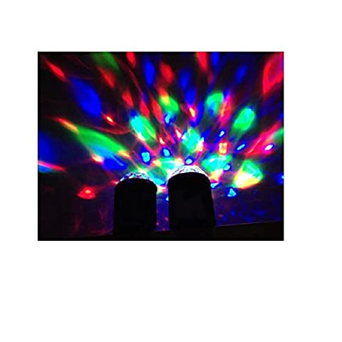 Tragbare Wireless Bluetooth Wiederaufladbare LED-Kristall Kugel Disco Licht mit lautem Sound Lautsprecher–Kann auch verwendet werden als Auto Freisprechanlage fürs