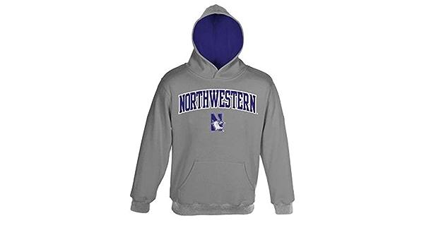 Northwestern Wildcats Genuine Stuff Youth Arch Logo Sweatshirt