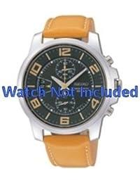 Correa de reloj de Seiko/7t94 0av0 SNN169P1 Licht indicar (no incluidos en el precio del reloj. Correa de reloj original solamente)