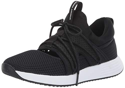Under Armour Breathe Sola, Scarpe Running Donna, Nero Black/White 001, 37.5 EU