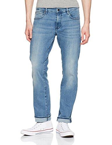 BOSS Casual Herren Straight Jeans Türkis (turquoise/aqua 441)