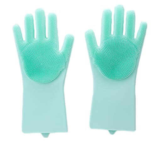 ULEEMARK Guantes Silicona Lavar Platos Tareas domésticas
