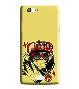 Hi-Me Designer Phone Back Case Cover Oppo Neo 5 :: Oppo A31 :: Oppo Neo 5S 2015 ( Music Plays on Yo Yo Chimp )