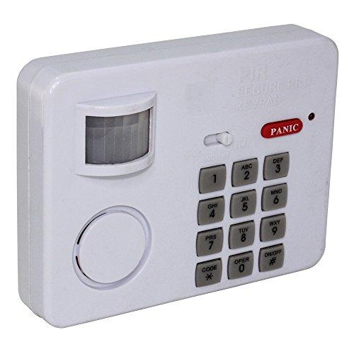 Tastatur Alarm - 100 dB - Erkennung bei 5 m - Code bis zu 12 Ziffern