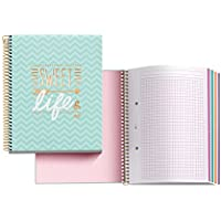 Miquelrius 46608 - Notebook sweet life (DIN A5, 148 x 210 mm, 140 hojas, 70 g/m², cuadrícula)