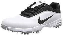 Nike Herren Air Zoom Rival 5 Golfschuhe, Weiß (White/metallic Silver), 43 EU