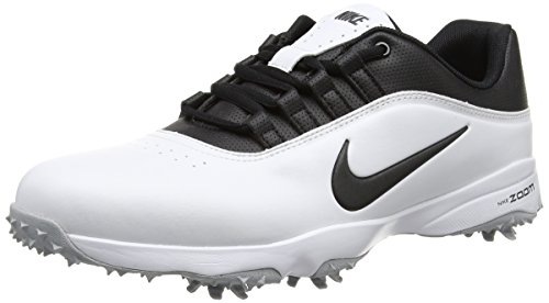 Nike Air Zoom Rival 5, Chaussures de Golf Homme, Blanc (White/Metallic Silver), 43 EU