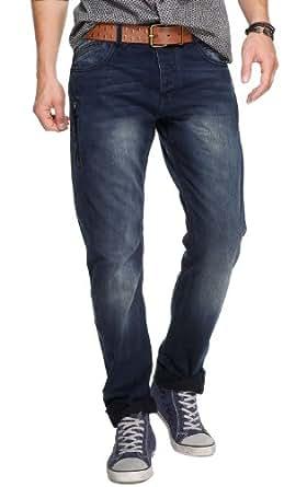 QS by s.Oliver Herren Jeans Normaler Bund 40.308.71.2328, Gr. 36/32, Blau (56Y5)