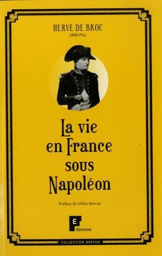 La vie en France sous Napoléon