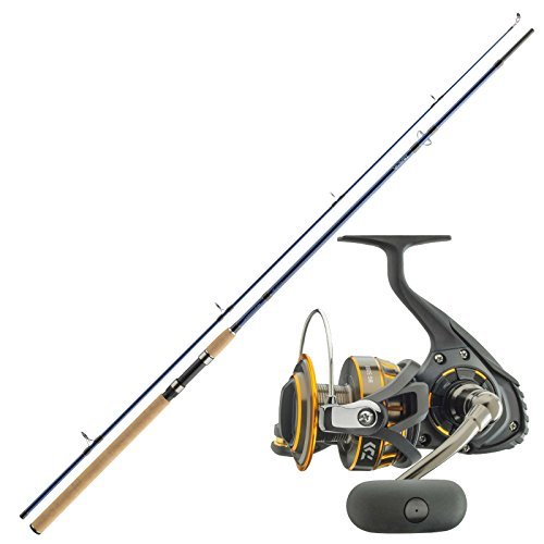 Daiwa Meer Allround Angelset Combo Angelrute & Angelrolle Set - Angeln NO.1