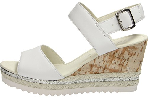 Gabor Fashion, Sandales Bout Ouvert Femme white