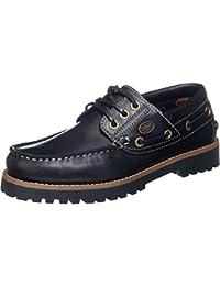 Dockers , Chaussures bateau pour femme noir schwarz