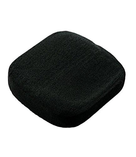 NiSeng Houppettes à Poudre Eponge Powder Puff de Cosmétique Noir