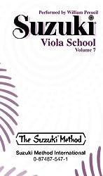 Suzuki Viola School, Vol 7: Cassette
