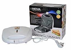Nova NSM-2412 750-Watt Sandwich Maker (White)