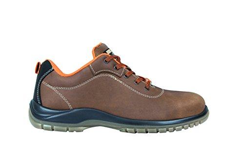 Exena Gea - Scarpe di protezione del lavoro, taglia 41, marrone Marrone