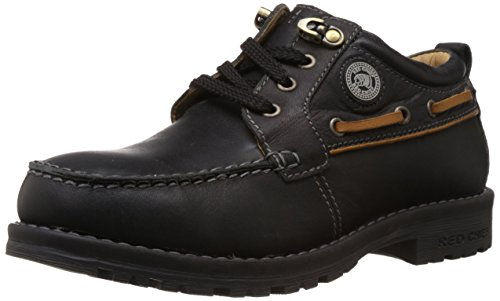Redchief Men's Black Leather Trekking and Hiking Footwear Shoes - 8 UK (RC2403 001)  available at amazon for Rs.1097