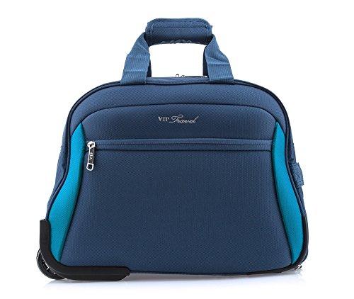 Preisvergleich Produktbild Wittchen Reisetasche / Farbe: Marineblau / Polyester / Höhe (cm): 32 x Breite (cm): 42 / Kollektion: VIP COLLECTION / V25-3S-237-99