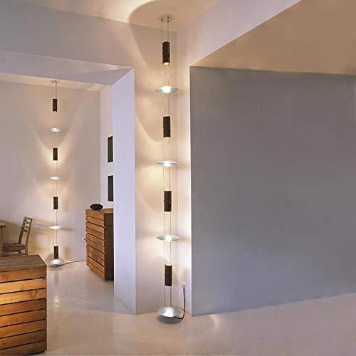 Oligo Lichtelement für Treppenhaus Bel-Air 2,5m Blattsilber für Steckdose