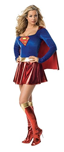 (Supergirl Kostüm Superheldin Clark Kent DC Comic Held für Damen)