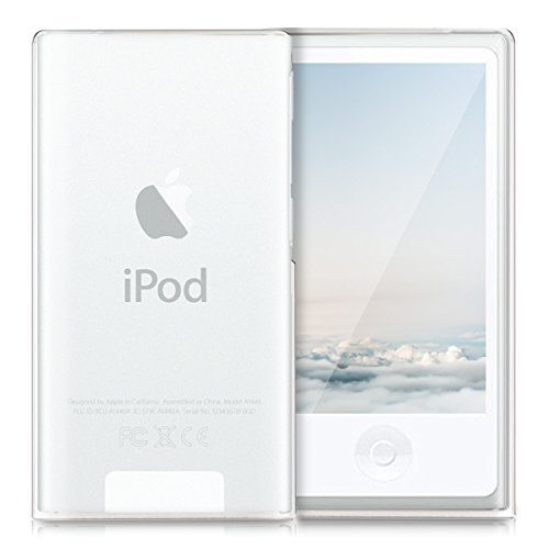 kwmobile Apple iPod Nano 7 Hülle - Handyhülle für Apple iPod Nano 7 - Handy Case in Matt Transparent Ipod Nano Silicon Cover