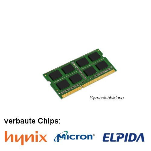2GB (1x 2GB) DDR3 1333MHz (PC3 10600S) SO Dimm Notebook Laptop Arbeitsspeicher RAM Memory Hynix Micron Elpida -