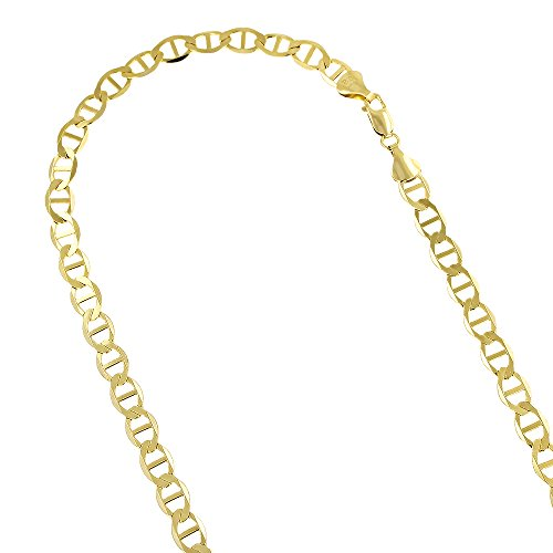 10k-yellow-gold-solid-flat-mariner-chain-55mm-wide-necklace-with-lobster-claw-clasp-18-inches-long