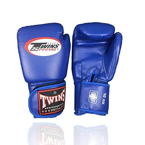 KMCC Guanti Boxe 8-14 Oz all\'Ingrosso Muay Thai Pu Guanti da Boxe in Pelle Twin Donna Uomo MMA Gym Training Grant Guantoni da Boxe