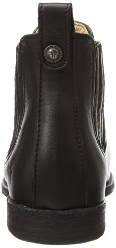 Frye Phillip Chelsea Rund Leder Mode-Stiefeletten Black