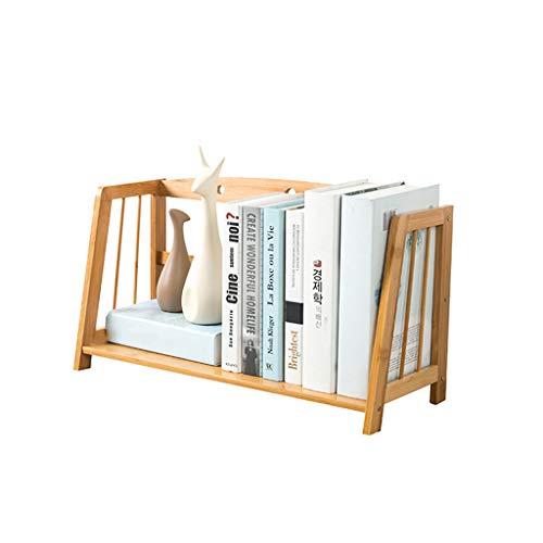 Leiter, Bücherregal, Schreibtisch (HAMIMI Studententisch Einfache Kinder Desktop Kleines Bücherregal Aktenregal Schreibtisch Lagerung Schlafsaal Leiter Bücherschrank 43x22x28 cm Speichereinheit (Size : M))
