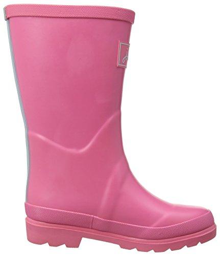 Joules Jnr Girls Fieldwelly, Bottes de Pluie fille Pink (Neon Pink Rose)