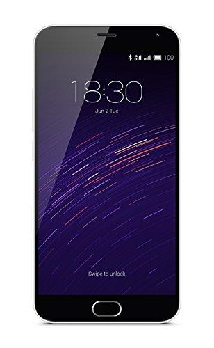 """Meizu M2 Note Smartphone, 5.5"""" Full HD, 4G, 13MPX, Dual SIM, 16GB, Bianco [EU]"""