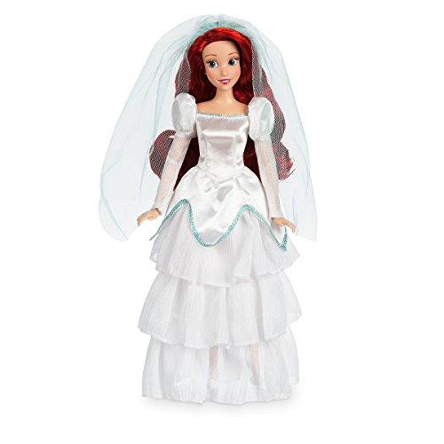 Ariel Wedding Classic Doll in ihrem weißen Satin Brautkleid - 11 1/2 ''