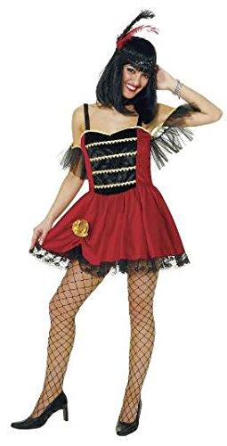 Kleid: Miss Colorado, Western-Kostüm , Erwachsenen-Größe:44