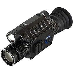NO BRAND CKQ-KQ HD visión Nocturna por Infrarrojos de visión Nocturna, monocular Prismáticos Telescopios térmica de Imagen Caza Patrulla vídeo de Infrarrojos de visión Nocturna