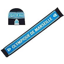 OLYMPIQUE DE MARSEILLE Coffret cadeau écharpe + bonnet OM - Collection  officielle 65c735a22a0