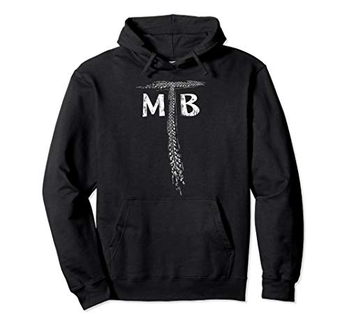 Mountainbike Dirtbike Reifenspur Mountain-Biking MTB Pullover Hoodie