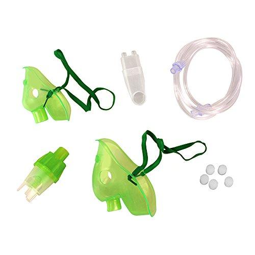 Omnibus FUN Zubehör für Inhaliergerät Maske für Kinder und Erwachsene Vernebler Luftschlauch Mundstück Filter
